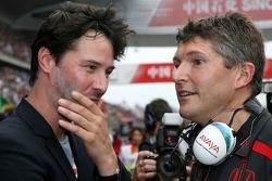 Nick Fry, Honda Racing F1 Team, Şef Sorumlusu, Keanu Reeves, aktör