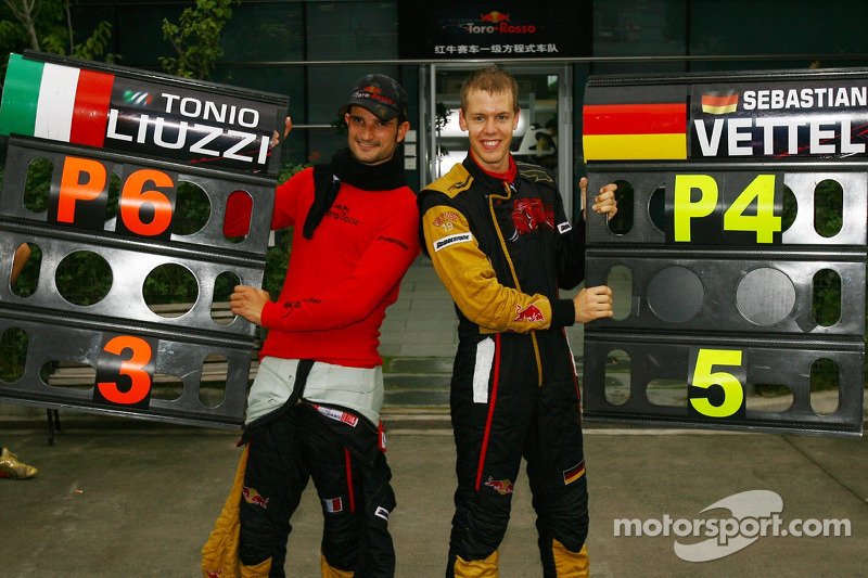 Em seu lugar entrou Sebastian Vettel, que passou a formar dupla com Liuzzi.