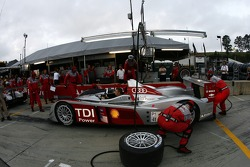 Audi Sport North America team members at work