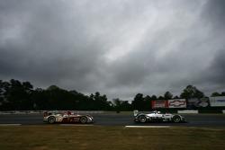 #20 Dyson Racing Team Porsche RS Spyder: Chris Dyson, Guy Smith, #2 Audi Sport North America Audi R10 TDI Power: Emanuele Pirro, Marco Werner
