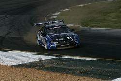 Gerardo Bonilla goes off-track