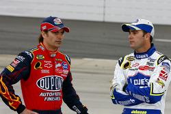 Jimmie Johnson und Jeff Gordon
