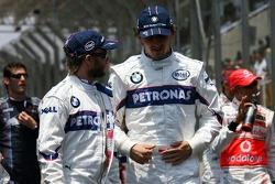 Нік Хайдфельд і Роберт Кубіца, BMW Sauber