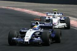 Nico Rosberg, WilliamsF1 Team, Robert Kubica,  BMW Sauber F1 Team