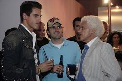 Adrian Sutil and Tiago Monteiro
