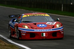 #50 AF Corse Motorola Ferrari 430: Toni Vilander, Dirk Müller
