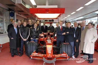 Kimi Raikkonen World Championship celebrations