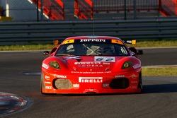 #62 Scuderia Ecosse Ferrari 430: Tim Mullen, Daren Turner