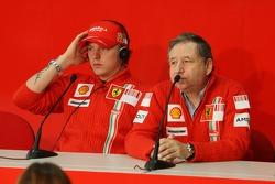 Kimi Raikkonen and Jean Todt