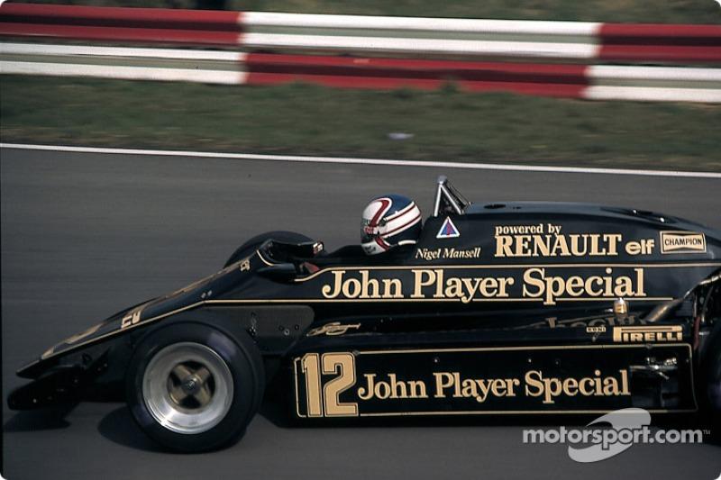 Lotus 1983: Nigel Mansell, Lotus-Renault 93T