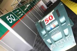 AMR Larbre garage area