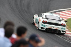 #75 JMB Racing Ferrari F430 GT: Alexandre Negrao, Alexandre Negrao Sr., Andreas Mattheis