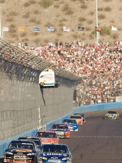 Jimmie Johnson takes the lead