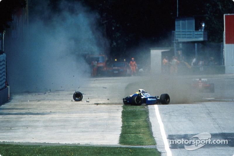 El choque fatal de Ayrton Senna en Tamburello