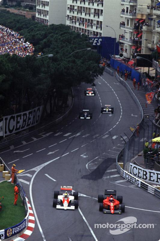 Tour de chauffe : Ayrton Senna et Alain Prost