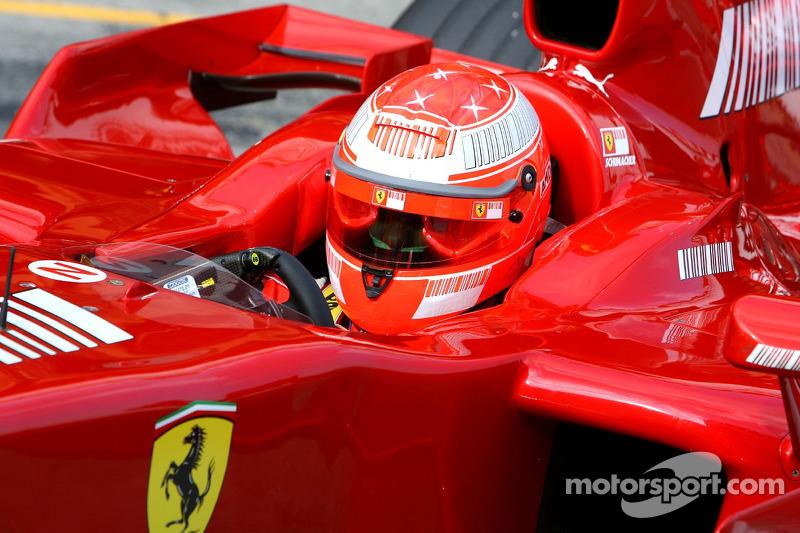 2007: Тести з Ferrari