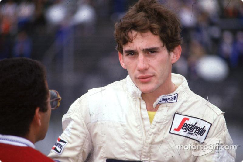 Ayrton Senna, Toleman Hart