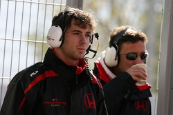 Luca Filippi, Honda Racing F1 Team, Andreas Zuber, Test Pilotu, Honda Racing F1 Team