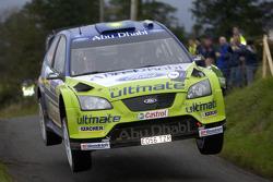 Mikko Hirvonen and Jarmo Lehtinen, BP Ford, Ford Focus WRC