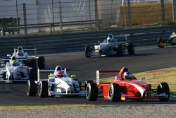 Marco Witmann, Josef Kaufmann Racing and Henry Arundel, Fortec Motorsport