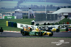Michael Schumacher crashes at the Adelaide hairpin