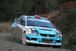 Armindo Araujo et Miguel Ramalho, Mitsubishi Lancer WRC05