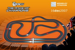 Track map of the Race of Champions 2007