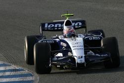 Kazuki Nakajima, Williams F1 Team, Slick tyres