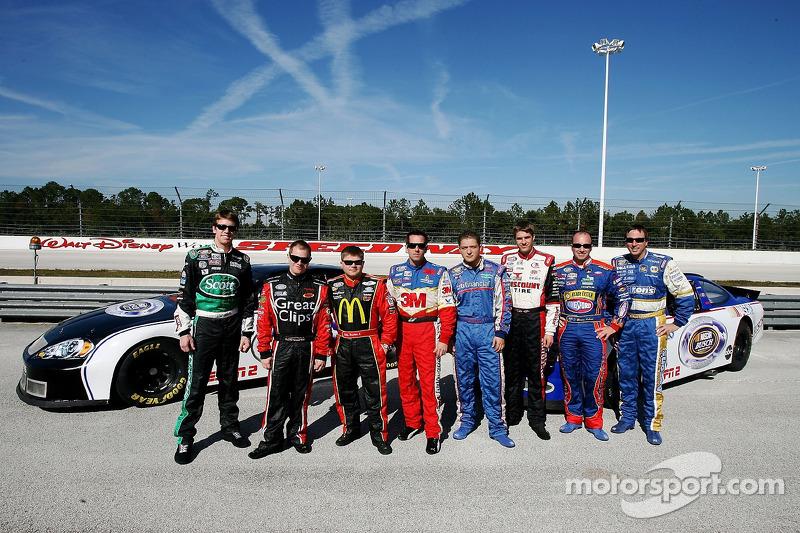 NASCAR Busch Series Top 10 Drivers Carl Edwards Jason Leffler