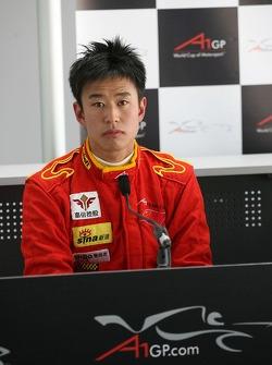 Congfu Cheng, pilote de A1 Equipe de Chine