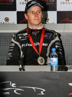 Podium: second place Jonny Reid