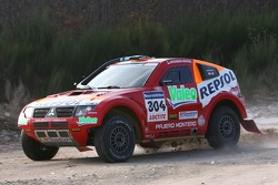 Repsol Mitsubishi Ralliart Team shakedown test: Nani Roma and Lucas Cruz Senra