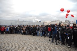 Kamaz-Master ceremonial start on the Red Square in Moscow: media