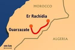 Stage 4: 2008-01-08, Er Rachidia to Ouarzazate