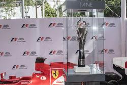 Trofeo para el primer lugar del Gran Premio de México 2015