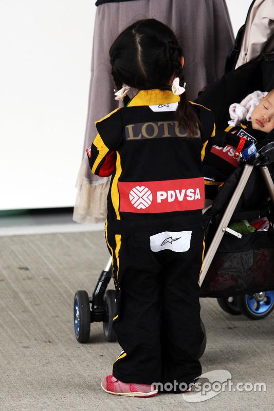 Lotus F1 Team fãs