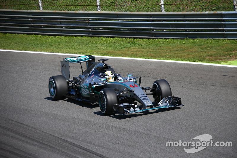 Lewis Hamilton, Mercedes AMG F2