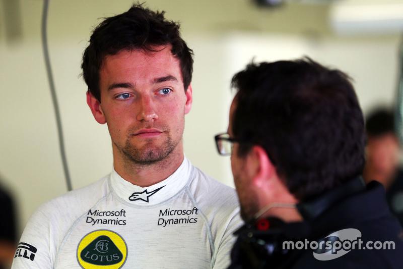 Jolyon Palmer, Lotus F1 Team, Test- und Ersatzfahrer, mit Julien Simon-Chautemps, Lotus F1 Team, Renningenieur