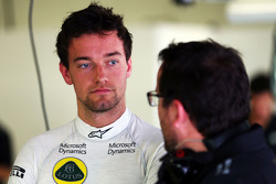 Джолион Палмер, Lotus F1 Team Test and Reserve Driver with Julien Simon-Chautemps, Lotus F1 Team Race Engineer