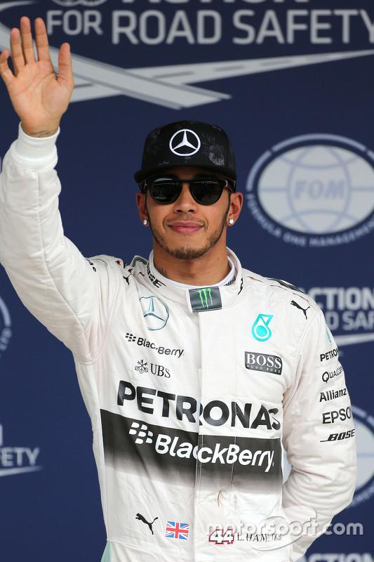 2. Lewis Hamilton, Mercedes AMG F1 Team