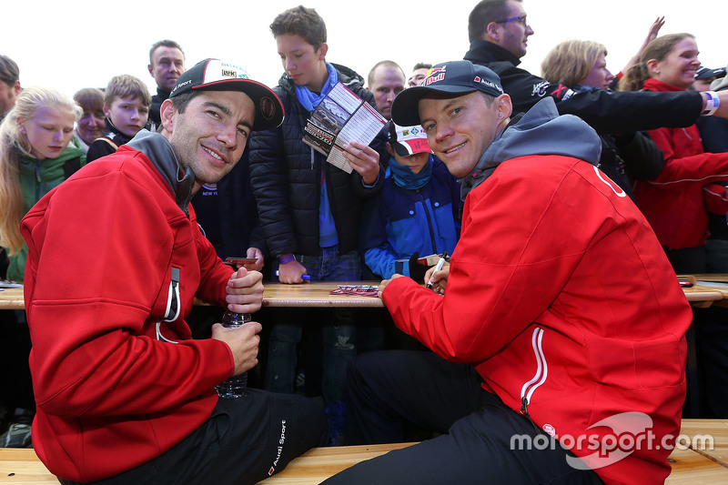 Майк Роккенфеллер, Audi Sport Team Phoenix Audi RS 5 DTM та Маттіас Екстрем, Audi Sport Team Abt Sportsline, Audi A5 DTM