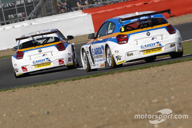 Sam Tordoff, & #6 Rob Collard, Team JCT600 with GardX, BMW 125i MSport