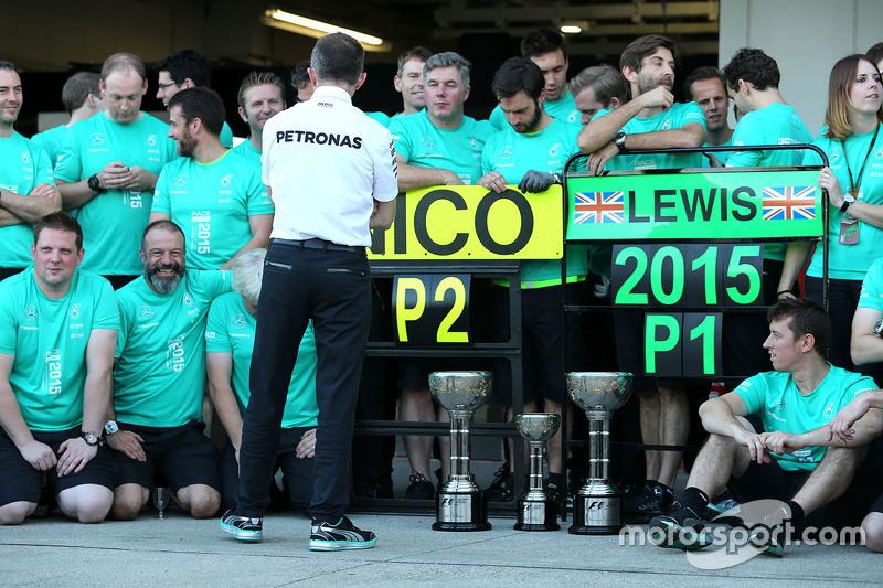 Падді Лоу, Mercedes AMG F1 Виконавчий директор