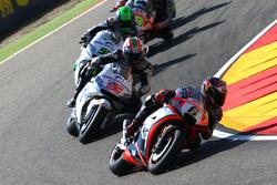 Stefan Bradl, Aprilia Racing Team Gresini, Nicky Hayden et Eugene Laverty, Aspar MotoGP Team