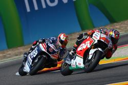 Jack Miller, Team LCR Honda et Hector Barbera, Avintia Racing