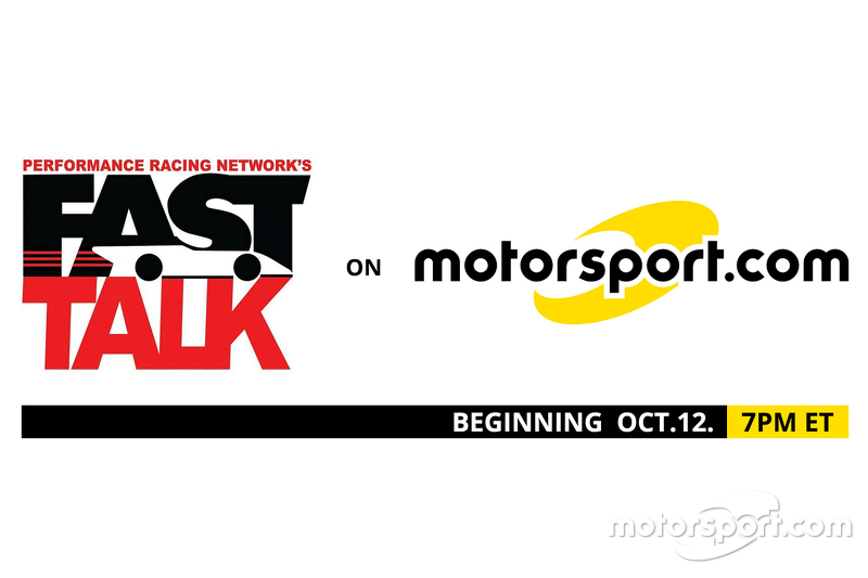 PRN's Fast Talk on Motorsport logo