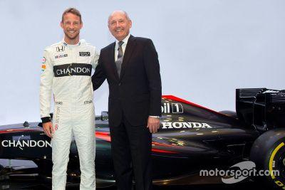 Anuncio McLaren Button