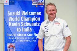 Kevin Schwantz besucht Indien