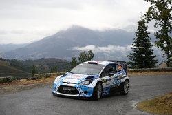 Stéphane Sarrazin und Jacques Renucci, Ford Fiesta WRC