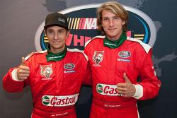 Mathias Lauda ve Freddie Hunt